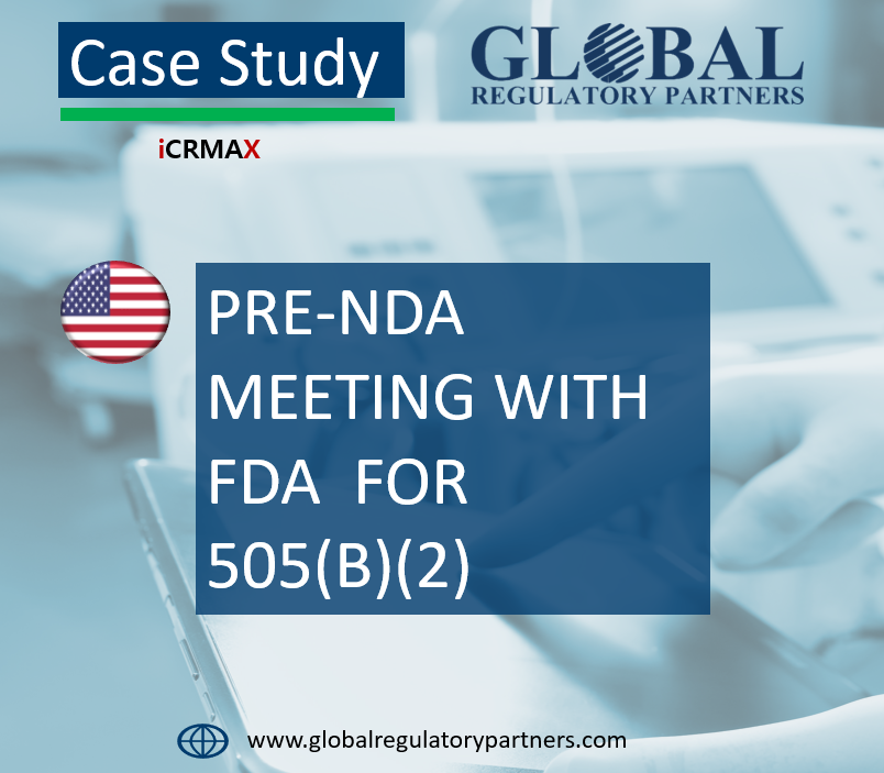 PRE-NDA MEETING WITH FDA FOR 505(B)(2)