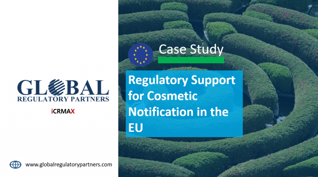 Regulatory Support for Cosmetic Notification in the EU