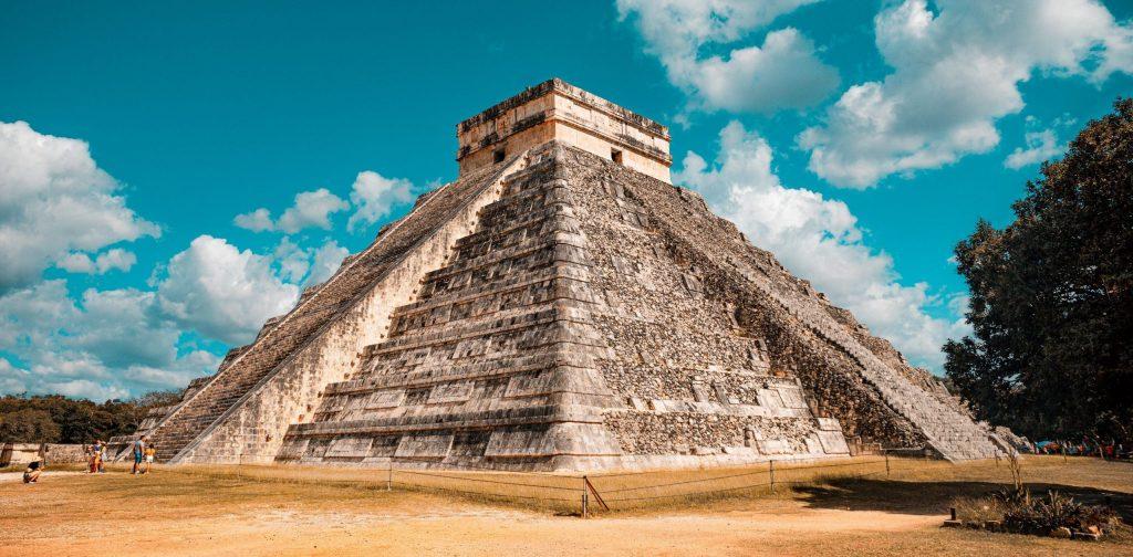 Mexico. Aztec temple